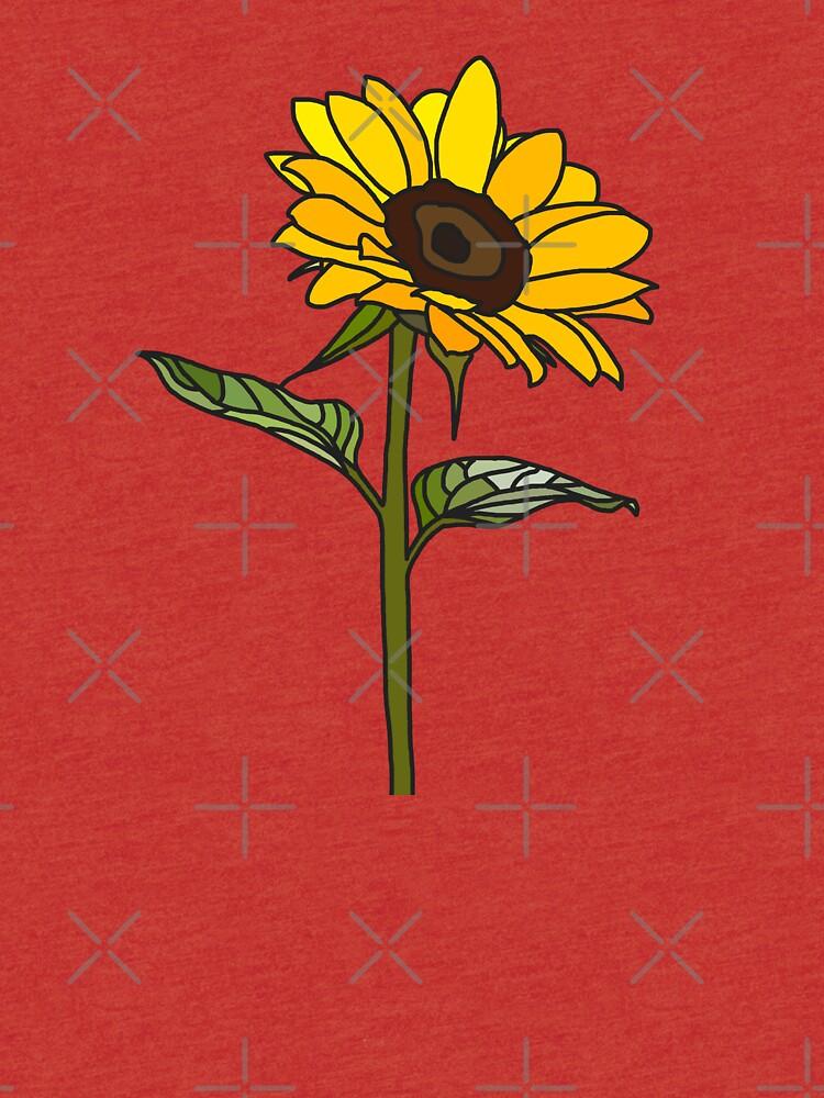 Ästhetische Sonnenblume von Rocket-To-Pluto