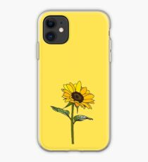 Aesthetic Sunflower  iPhone Case