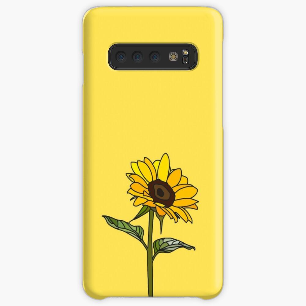Aesthetic Sunflower  Case & Skin for Samsung Galaxy