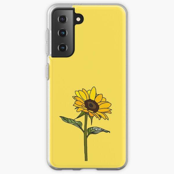 Aesthetic Sunflower  Samsung Galaxy Soft Case