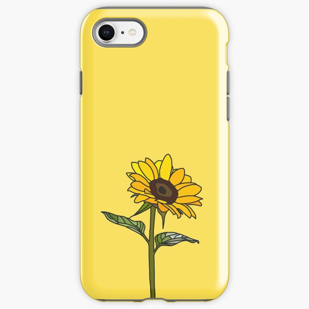Aesthetic Sunflower  iPhone Case & Cover