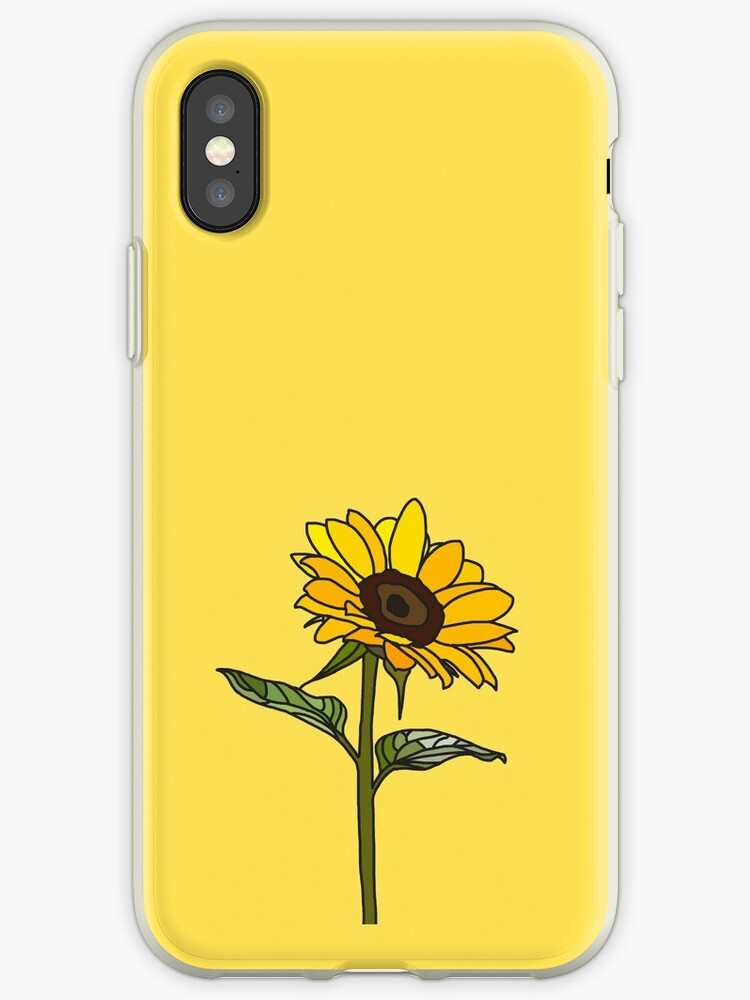 quality design fe580 20179 'Aesthetic Sunflower ' iPhone Case by Rocket-To-Pluto