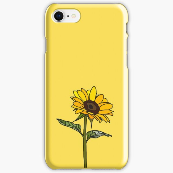 Aesthetic Sunflower  iPhone Snap Case