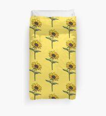 Ästhetische Sonnenblume Bettbezug