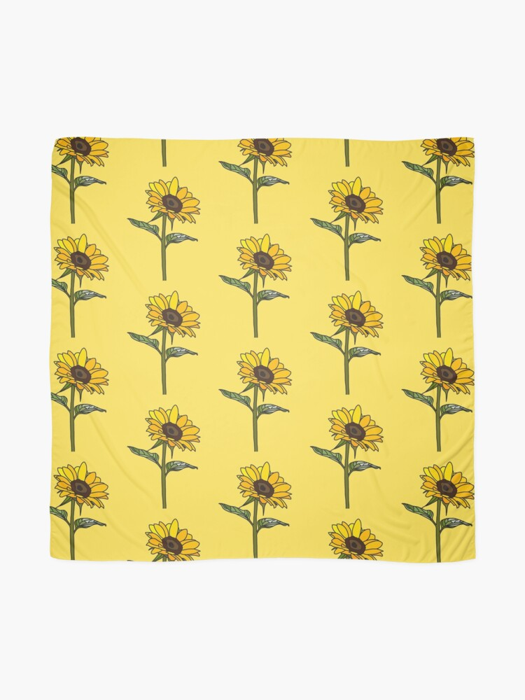 Alternative Ansicht von Ästhetische Sonnenblume Tuch