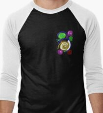 GALAXYS AROUND US Men's Baseball ¾ T-Shirt
