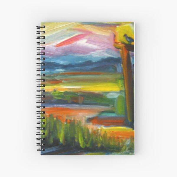Chincoteague Marsh Spiral Notebook