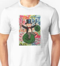 Alec Monopoly Painting Of Monopoly Man Unisex T-Shirt