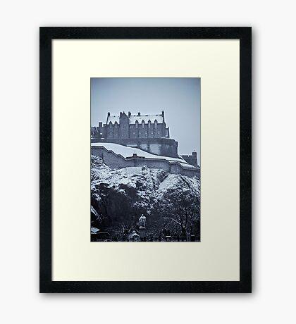 EDINBURGH CASTLE III Framed Print