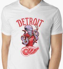 Detroit Red Wings Men's V-Neck T-Shirt