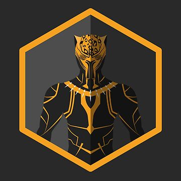 Golden Leopard Icon Fanart by TheLivingEthan