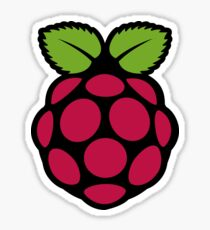 Fruity Raspberry Pi  Sticker