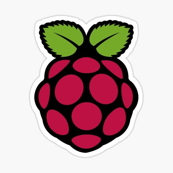 Fruity Raspberry Pi  Sticker