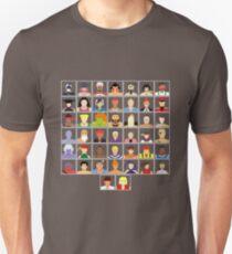 Camiseta unisex Selecciona tu personaje - Ultra Street Fighter 4 (Square)