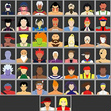 Select Your Character - Ultra Street Fighter 4 (Square) by flashkill455