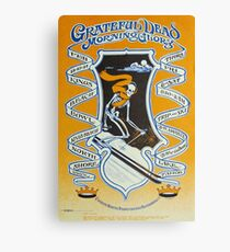 Grateful Dead Winter Lake Tahoe Tour Poster Canvas Print