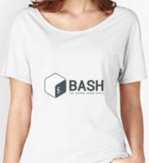 Linux Bash Women's Relaxed Fit T-Shirt