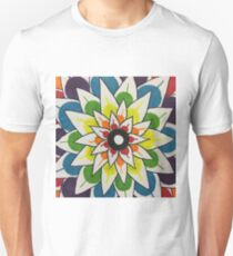 Rainbow Lotus Unisex T-Shirt