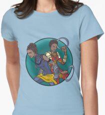 Nakia and Shuri Women's Fitted T-Shirt