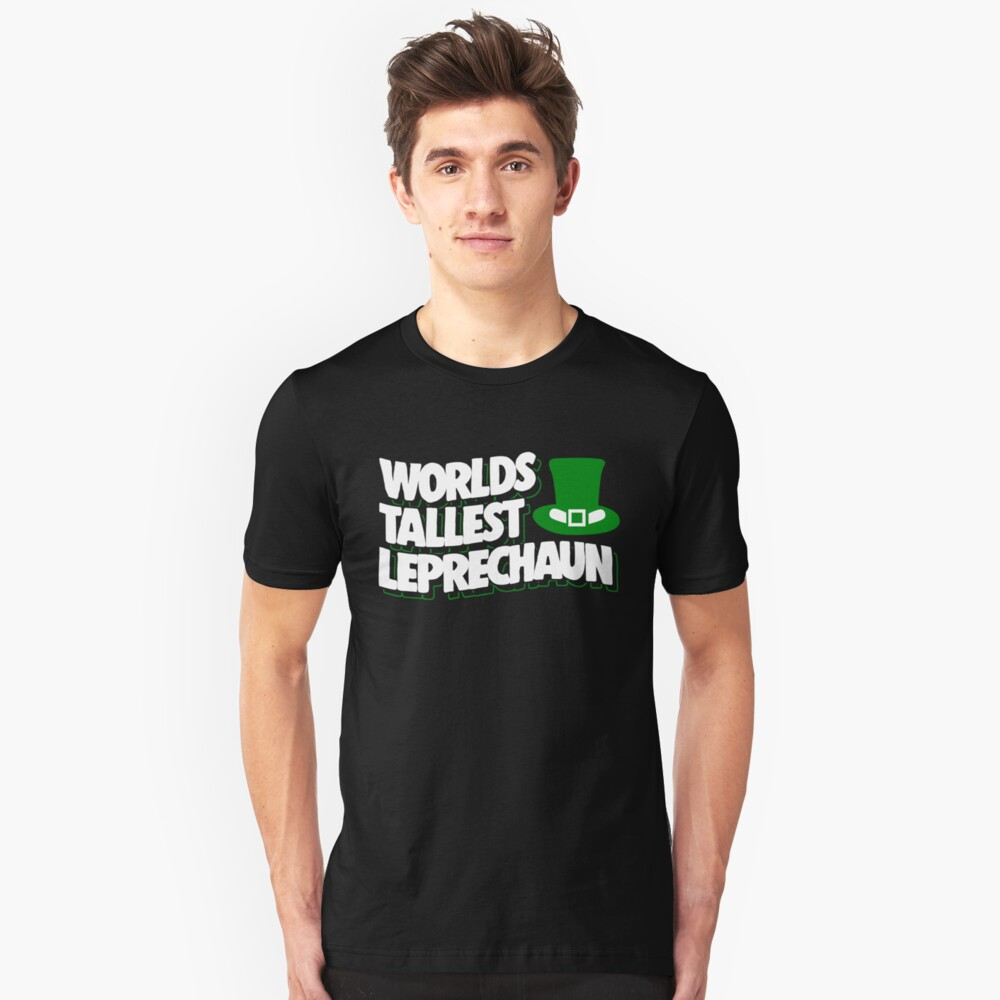 Funny St. Patrick's Day Apparel Unisex T-Shirt Front