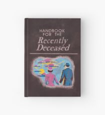 Aged Handbook for the Recently Deceased Hardcover Journal