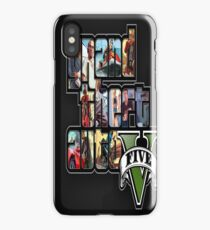 Grand Theft Auto V Five 316356 iPhone Case/Skin