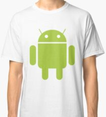 Android - The Green Little Guy Classic T-Shirt