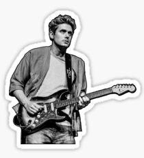 John Mayer Guitar Sticker
