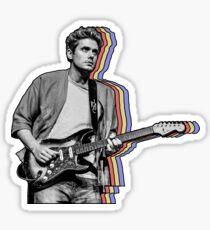 John Mayer überlagert Sticker