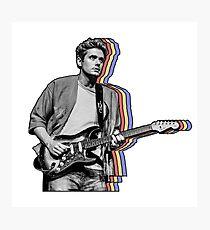 John Mayer überlagert Fotodruck