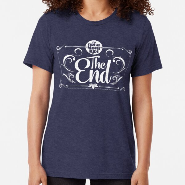 Great Movie Ride  (WHITE) Tri-blend T-Shirt