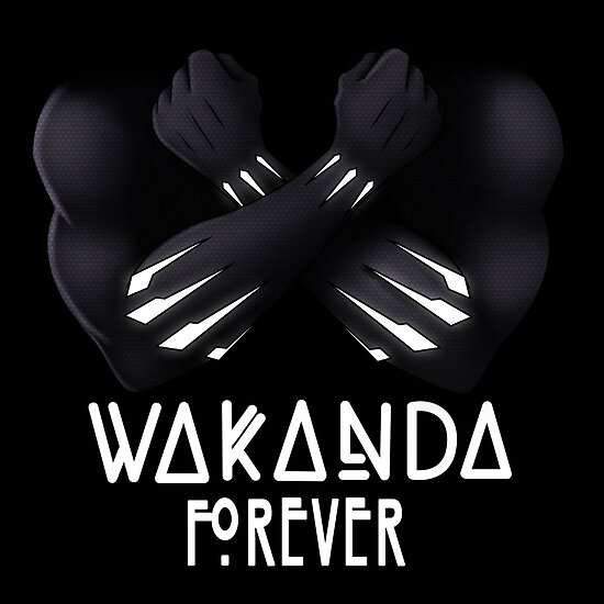 Quot Wakanda Forever Quot Poster By Mikemincey Redbubble