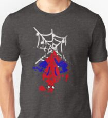 Spiderman Splatterman Unisex T-Shirt