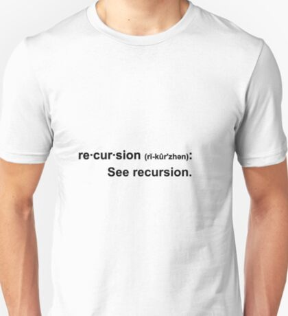 Recursion - light tees T-Shirt