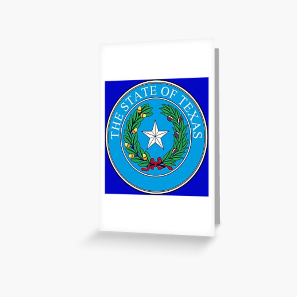 Seal of Texas Greeting Card