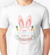 Every Bunny's Favorite Teacher Easter  Unisex T-Shirt