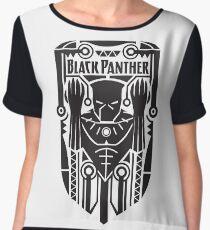 Black Panther Chiffon Top