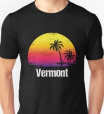 Summer Vacation Vermont Shirts  Unisex T-Shirt