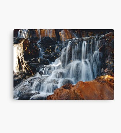 CASCADING WATER Canvas Print