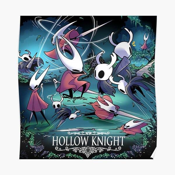 Hollow Knight - Hornet Battle Póster