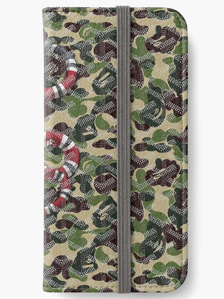 size 40 47387 e3679 'Bape Goyard Snake' iPhone Wallet by LaurieAdams
