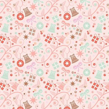 Seamless pattern Christmas by ECoelfen