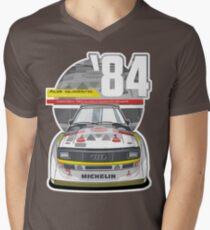 Audi Quattro Sport S1 - 1984 Men's V-Neck T-Shirt