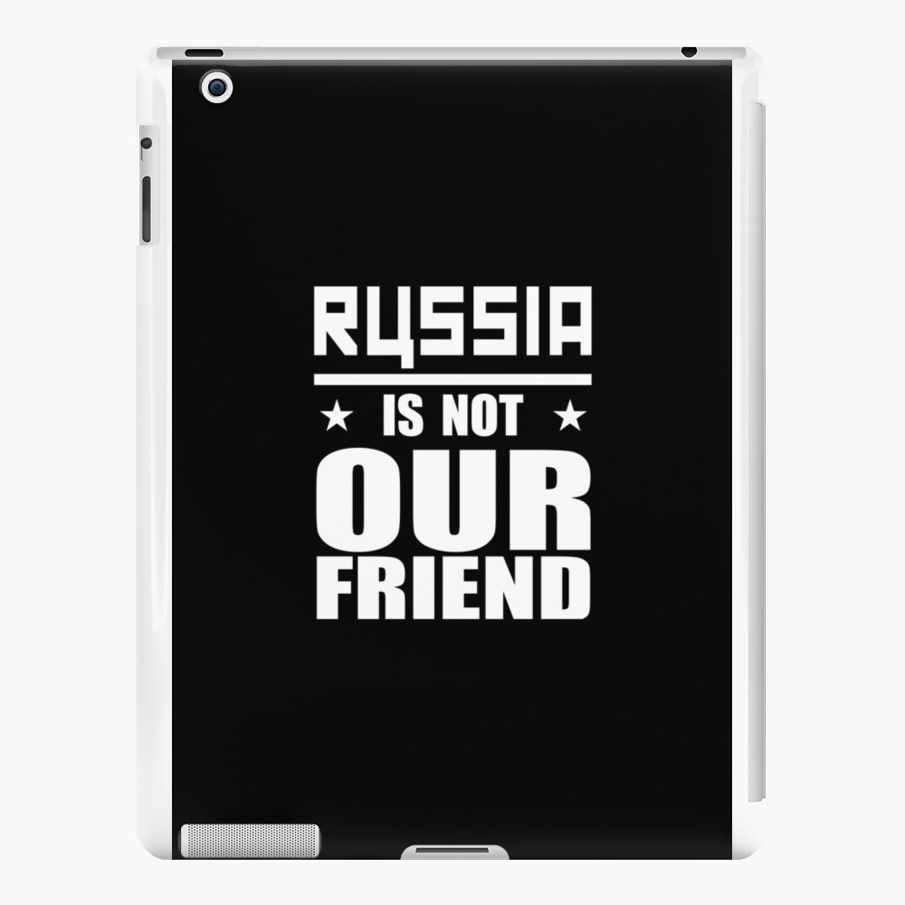 Russland nicht Freund iPad-Hüllen & Klebefolien
