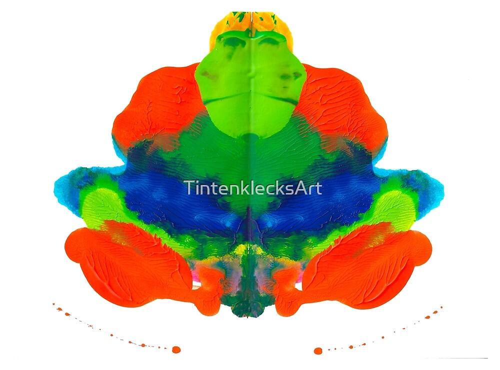 Tintenklecks Froschkönig von TintenklecksArt