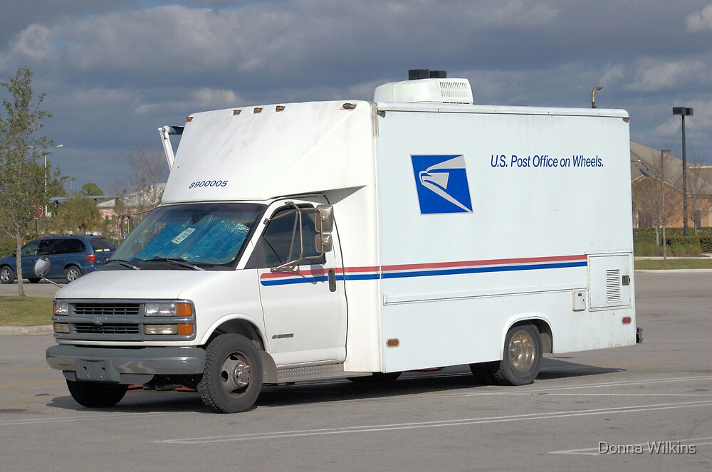 Mobile Post Office by Donna Adamski