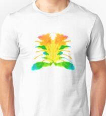 Tintenklecks Kreativ Rorschach Unisex T-Shirt
