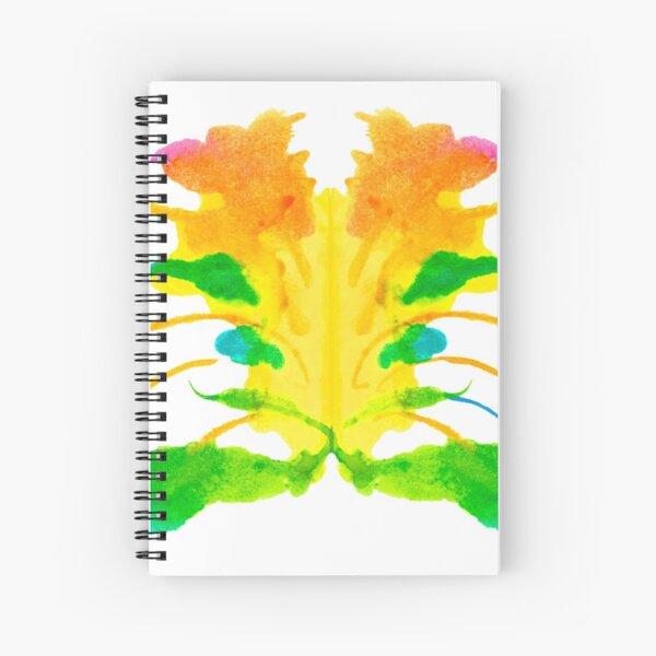 Tintenklecks Kreativ Rorschach Spiralblock