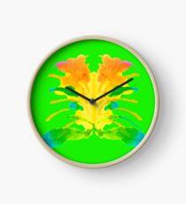 Tintenklecks Kreativ Rorschach Uhr