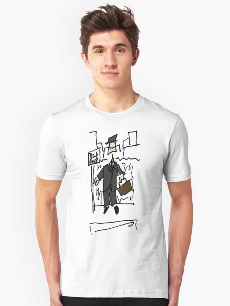 The Businessman Unisex T-Shirt Front